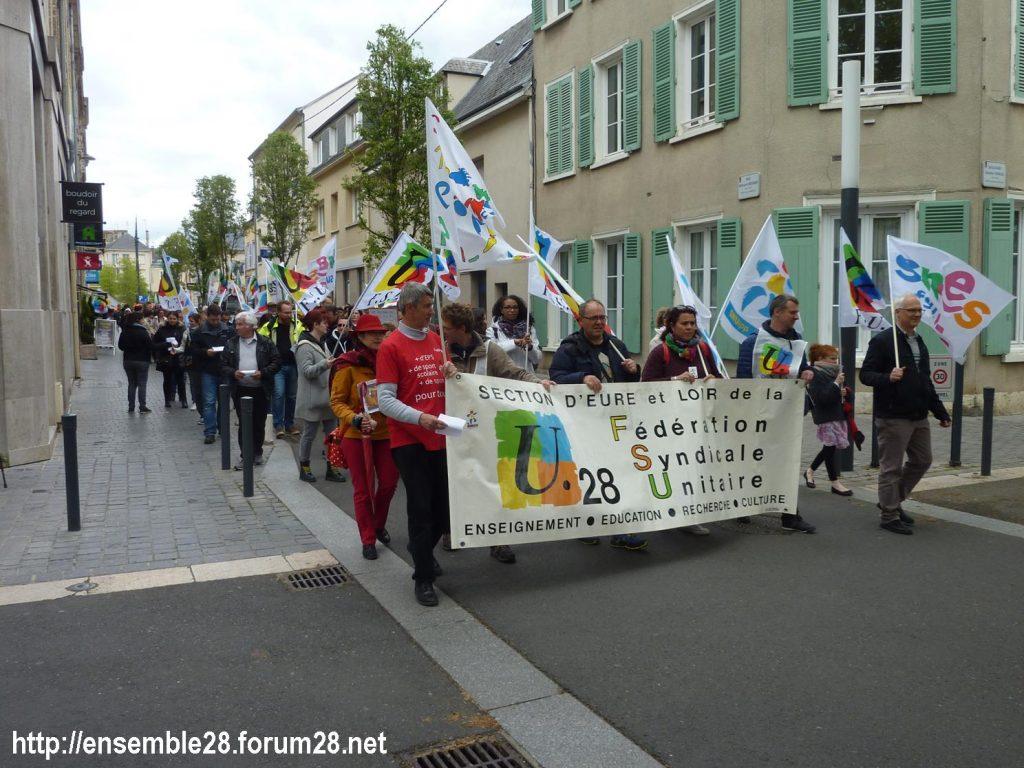 Chartres 09-05-2019 Manifestation Fonction-publique 02