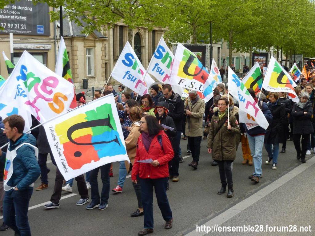 Chartres 09-05-2019 Manifestation Fonction-publique 04