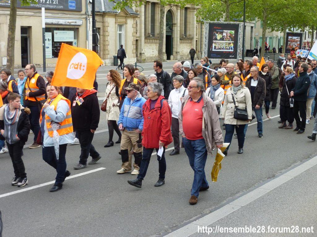 Chartres 09-05-2019 Manifestation Fonction-publique 05