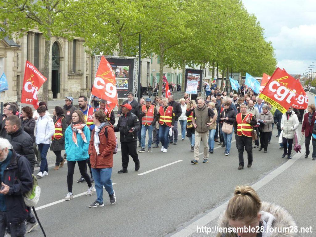 Chartres 09-05-2019 Manifestation Fonction-publique 06