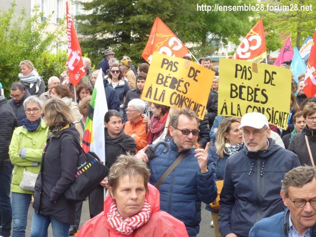 Chartres 09-05-2019 Manifestation Fonction-publique 10