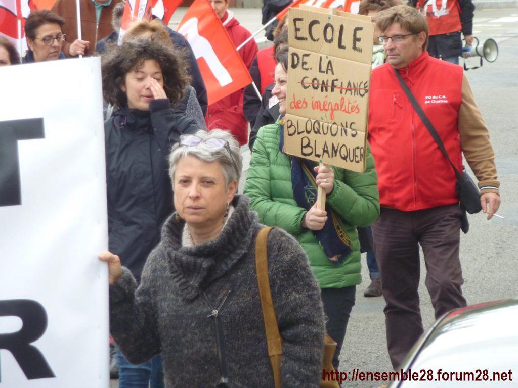Chartres 09-05-2019 Manifestation Fonction-publique 11