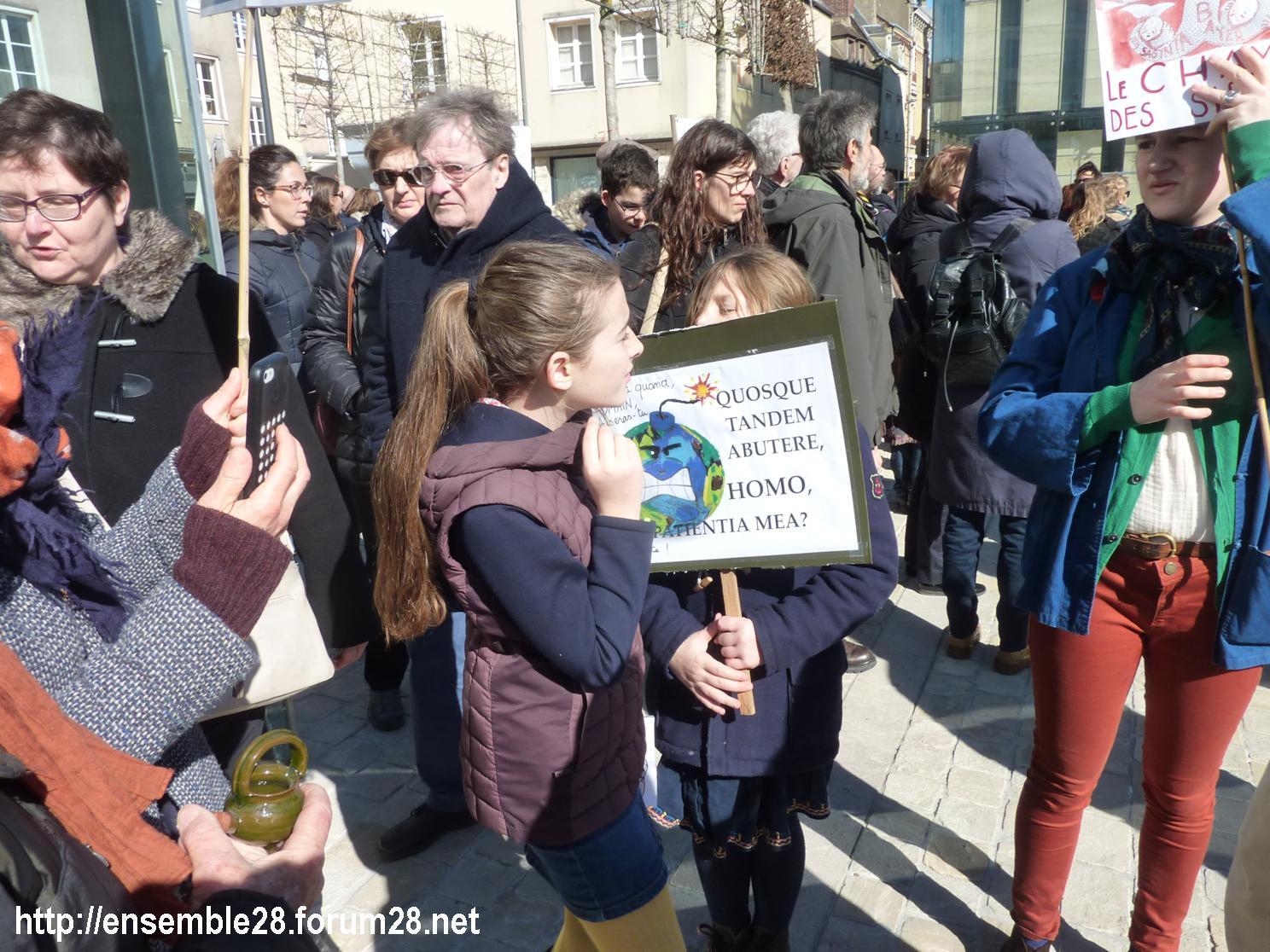 Chartres 16-03-2019 Marche pour le climat 21