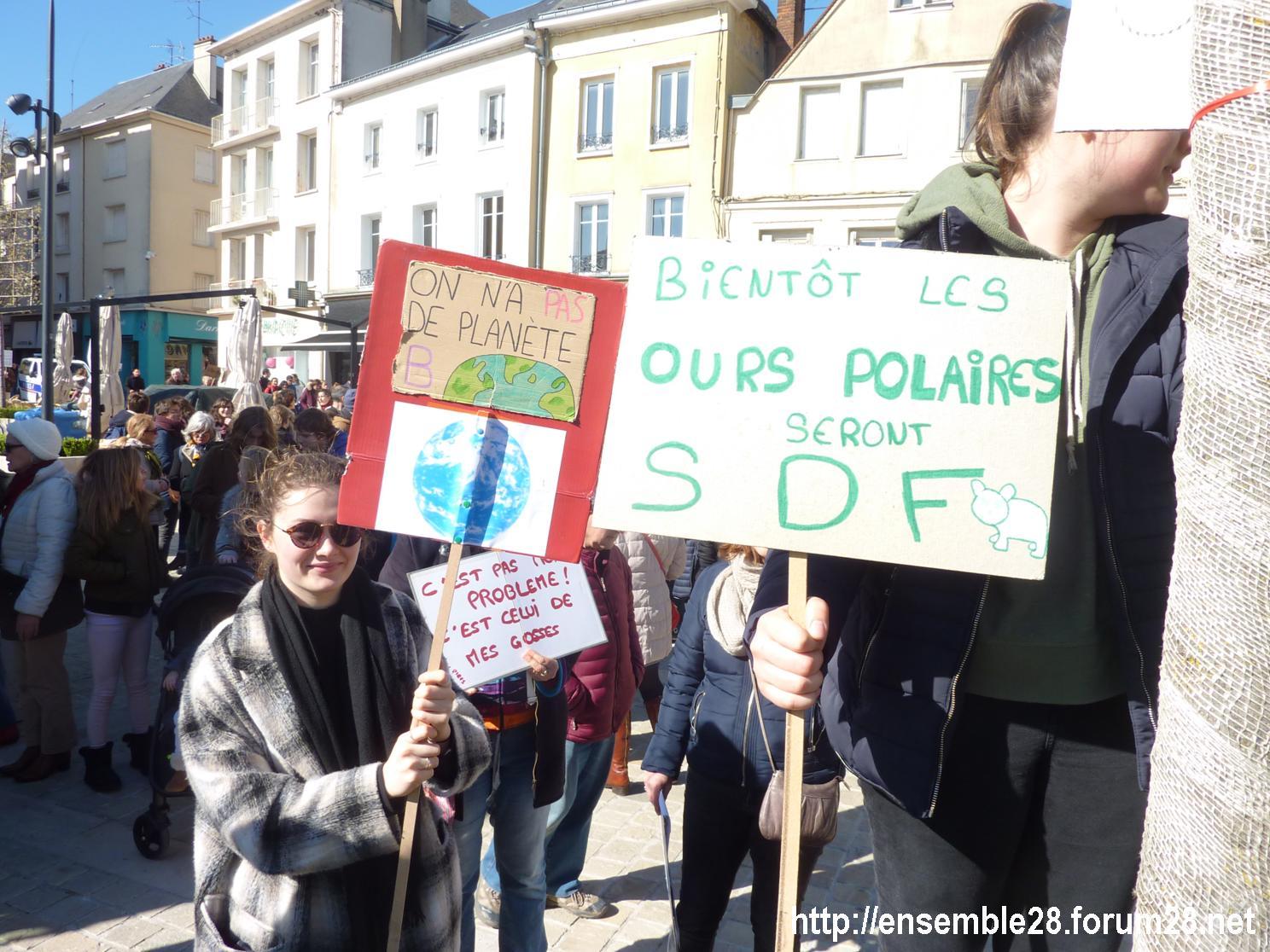 Chartres 16-03-2019 Marche pour le climat 22