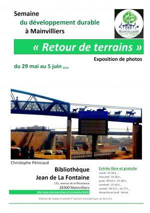 Retours de terrains / Expo de photos de C.Pénicaud / Bibliothèque / Mainvilliers / 29 mai --> 5 juin @ MAIVILLIERS - Bibliothèque Jean de La Fontaine