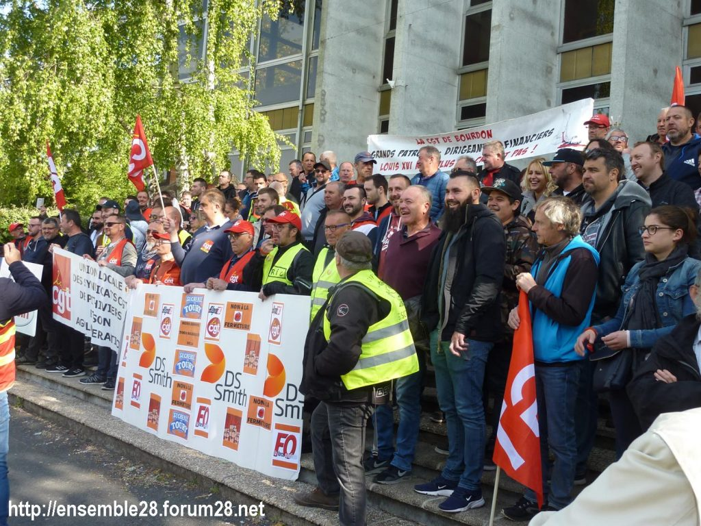 Toury Sucrerie Cristal-Union AG Pithiviers 16-05-2019 Rassemblement CGT 08