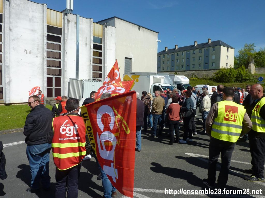 Toury Sucrerie Cristal-Union AG Pithiviers 16-05-2019 Rassemblement CGT 11