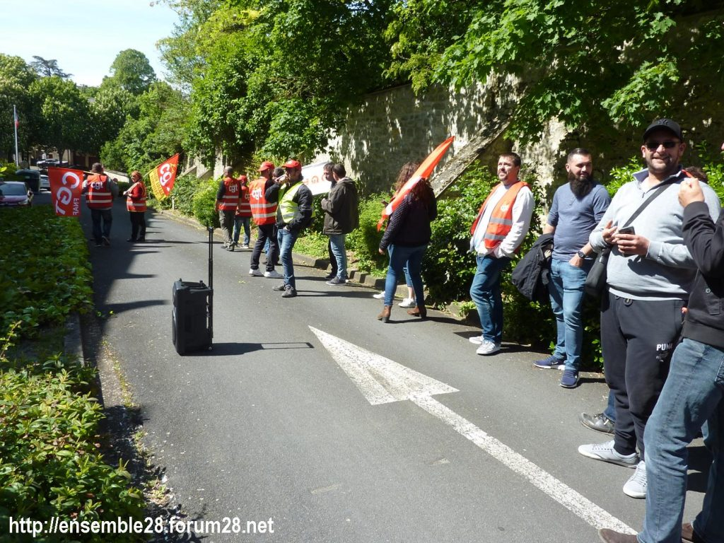 Toury Sucrerie Cristal-Union AG Pithiviers 16-05-2019 Rassemblement CGT 16
