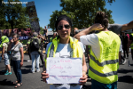 Paris 02-06-2019 Manifestation des mutilés Kaïna