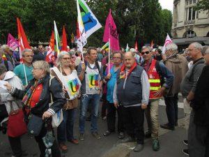 Paris 20-06-2019 Dépôt Pétition Retraités 2