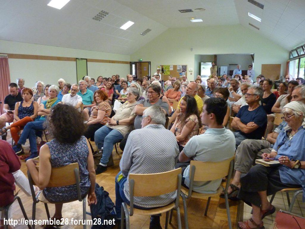 Préaux-du-Perche 23-60-2019 Gilets Jaunes Débat Monde rural 07
