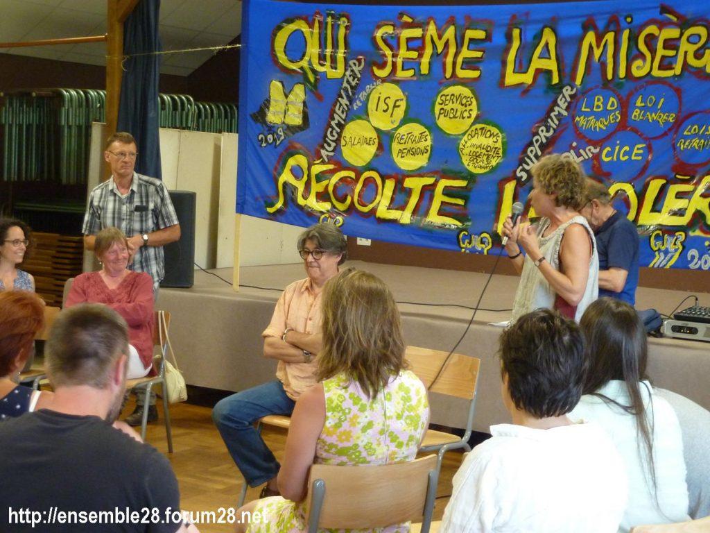 Préaux-du-Perche 23-60-2019 Gilets Jaunes Débat Monde rural 08