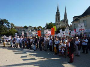 21-09-2019 Chartres Manifestation Anti-éoliennes industrielles 0