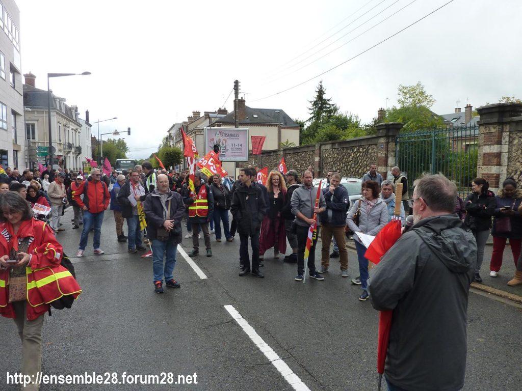 24-09-2019 Chartres Manifestation Retraites CGT 01