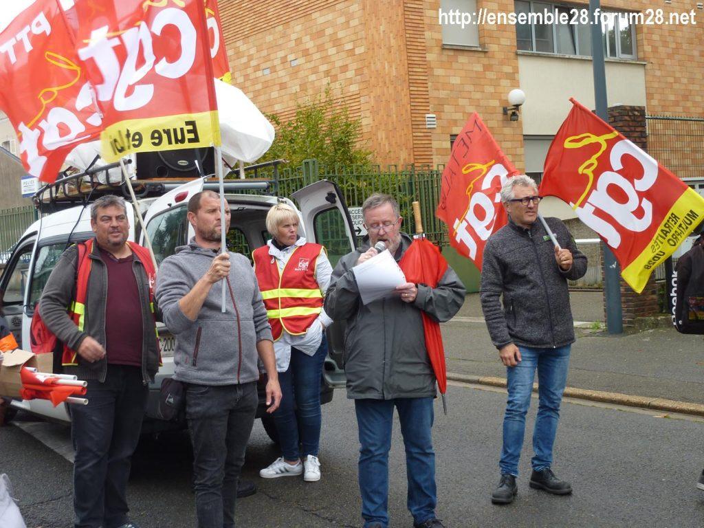 24-09-2019 Chartres Manifestation Retraites CGT 02