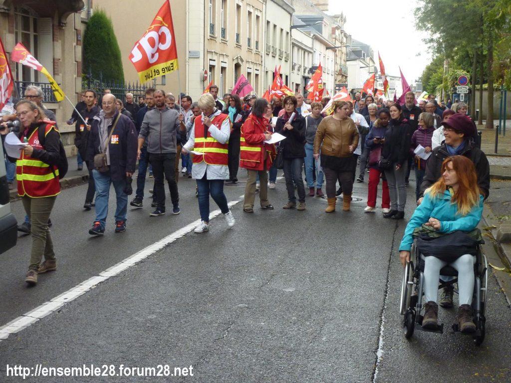 24-09-2019 Chartres Manifestation Retraites CGT 05