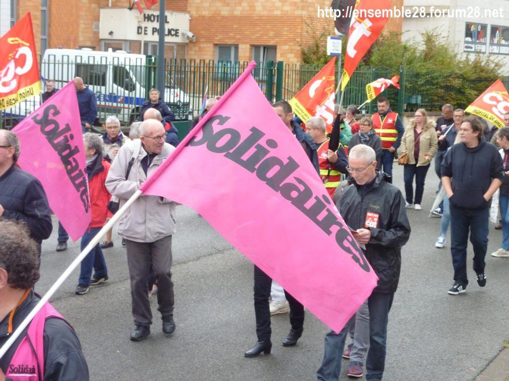 24-09-2019 Chartres Manifestation Retraites CGT 09