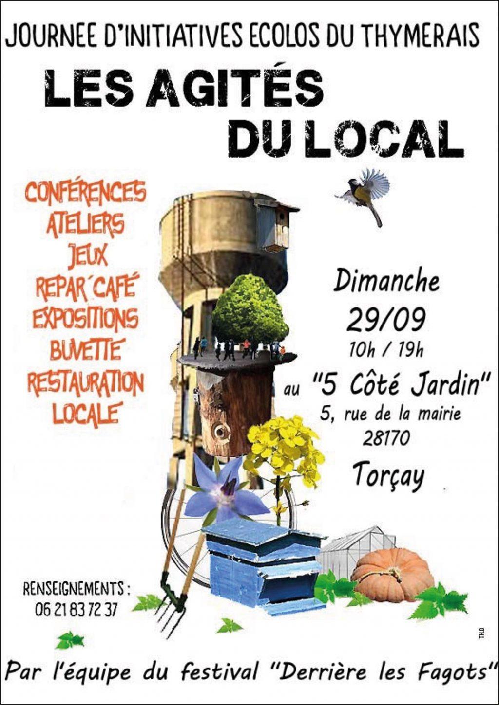 Les Agités du local Châteaudneuf [Affiche]
