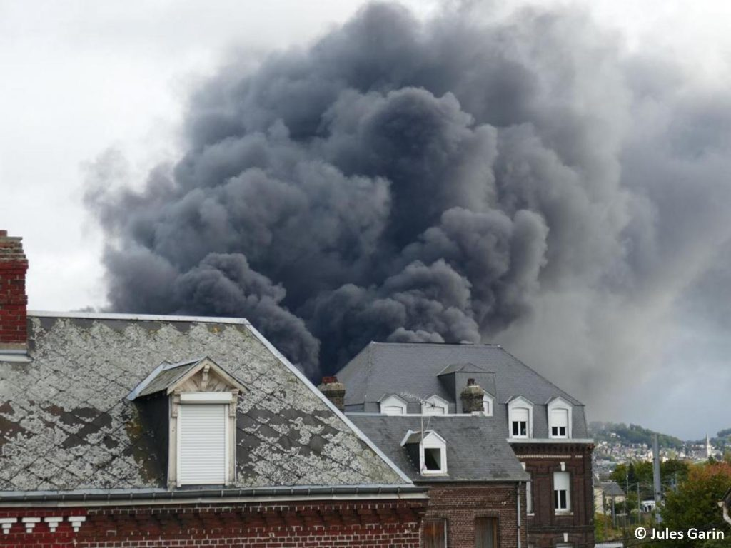 Lubrizol Rouen Incendie 02