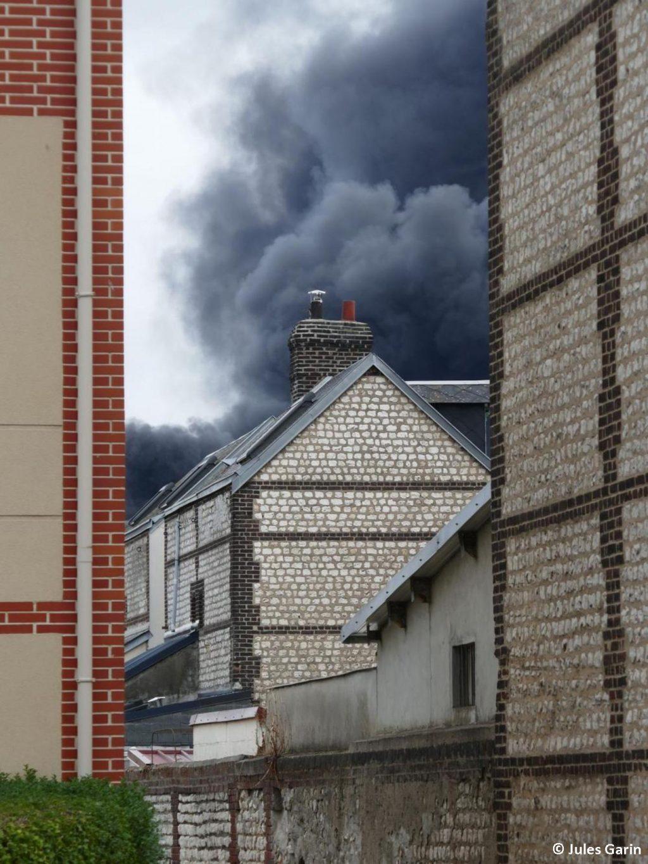 Lubrizol Rouen Incendie 04