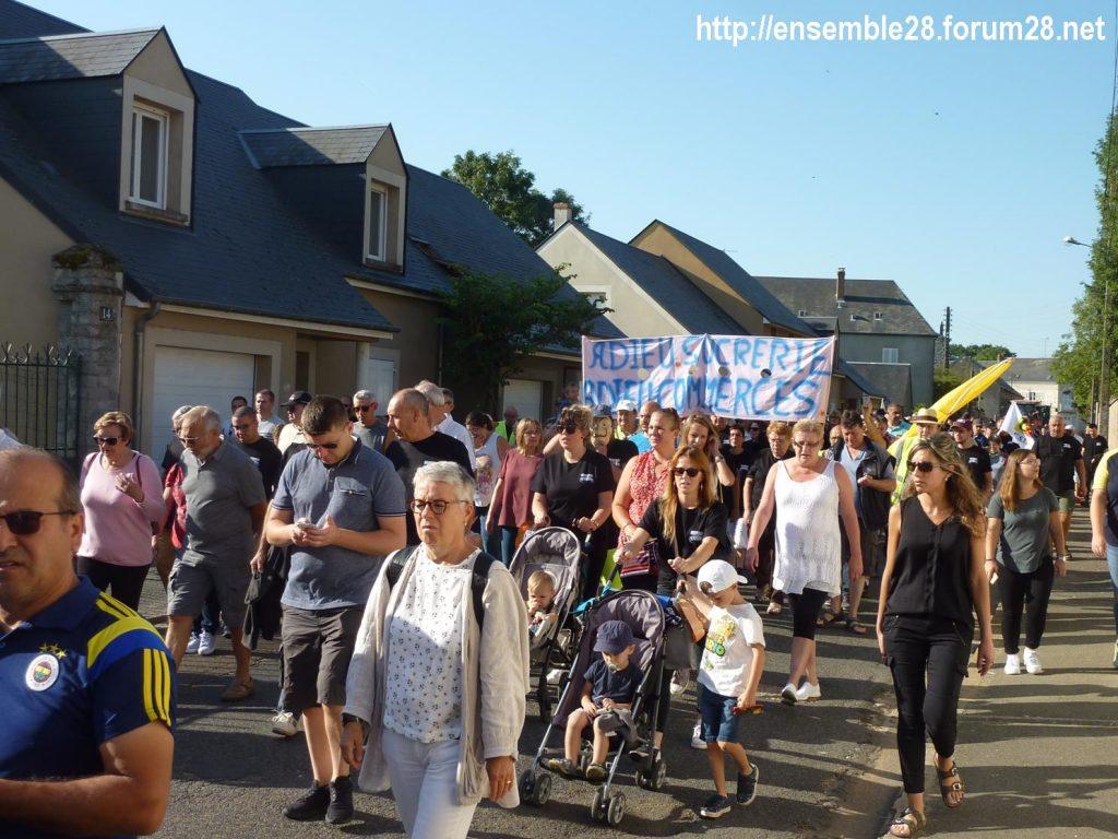 Toury 31-08-2019 Manifestation contre la fermeture de la sucrerie Cristal Union 10