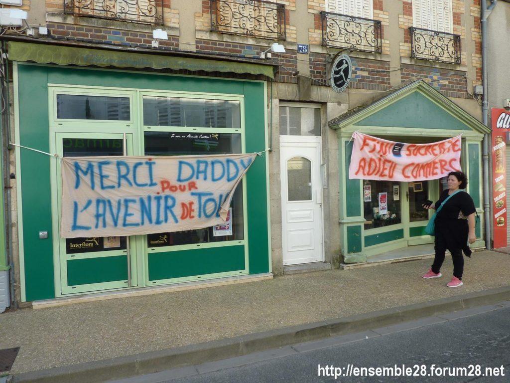 Toury 31-08-2019 Manifestation contre la fermeture de la sucrerie Cristal Union 13