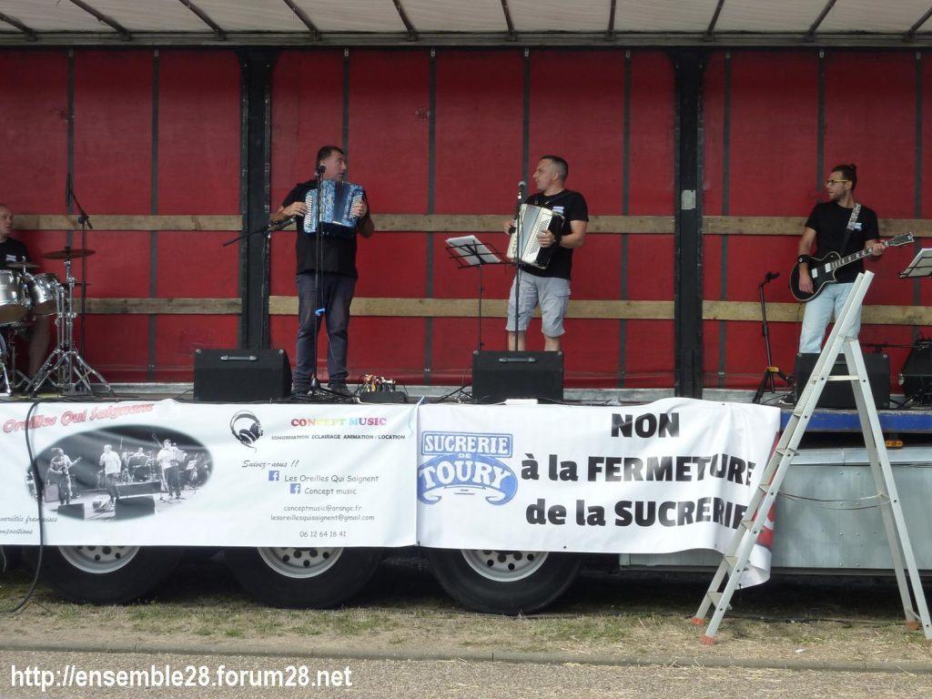 Toury 31-08-2019 Manifestation contre la fermeture de la sucrerie Cristal Union 18