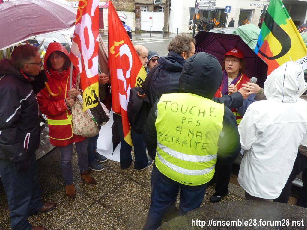 Chartres 08-10-2019 Manifestation Retraités 05