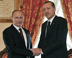 Erdogan rencontre Poutine 03-12-2012 [Photo WikimediaCommons, Dorian Jones ]