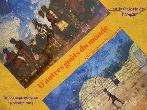 Expo D'autres goûts du monde Pithiviers C.Pénicaud [Affiche]