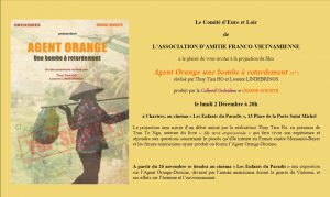 Agent Orange Invitation