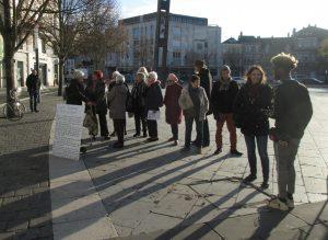 Chartres 20-11-2019 AERéSP Tractage Droits-de-l'Enfant 2 (rec)