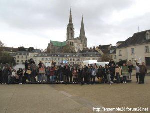 Chartres 29-11-2019 Marche Lycéens pour le climat 6