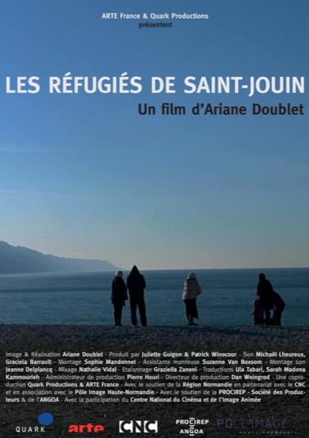 Les réfugiés de St-Jouin [Affiche]