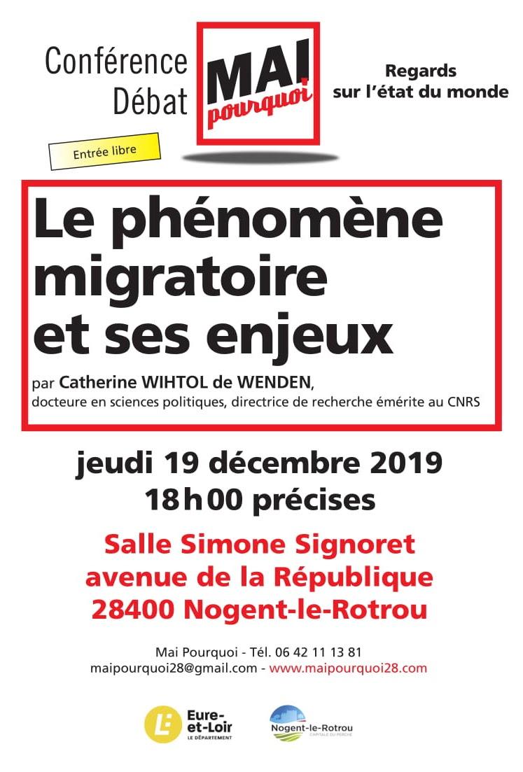 Mai-pourquoi Migrations, enjeux [Flyer]