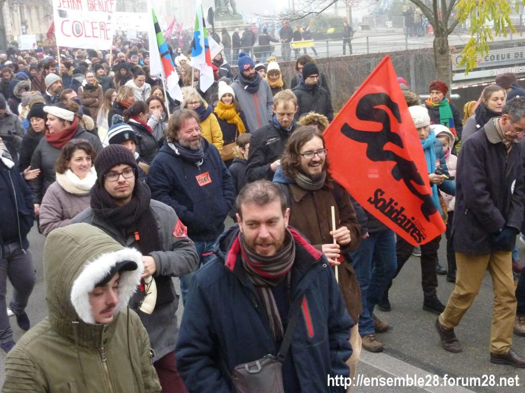 Chartres 05-12-2019 Manifestation Retraites 09
