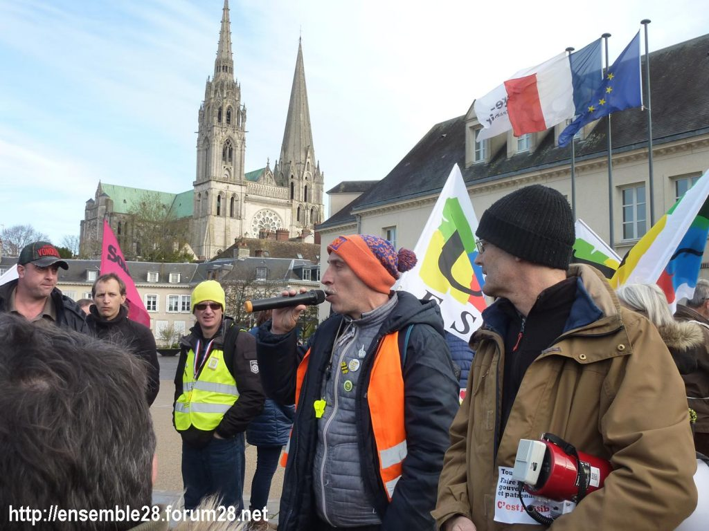 Chartres 14-12-2019 Manifestation Retraites 03