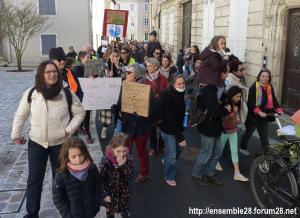 Chartres 16-03-2019 Marche Climat