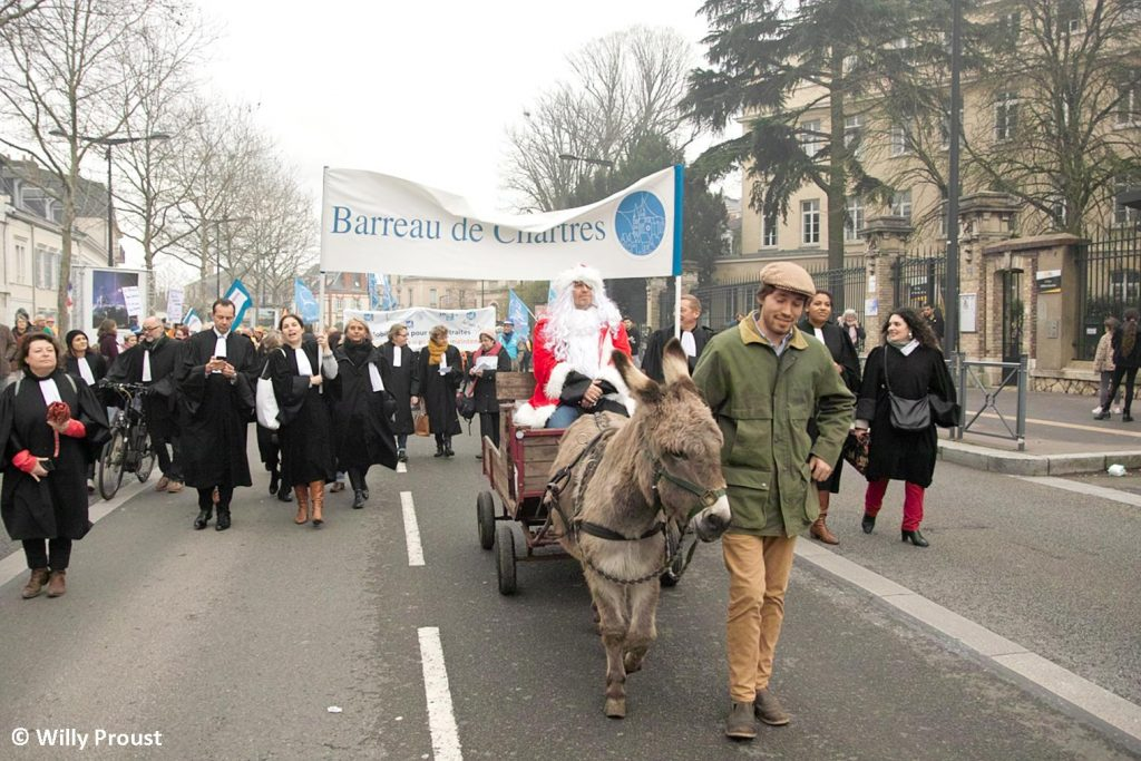 Chartres 17-12-2019 Manifestation Retraites [Photo Willy Proust] 09