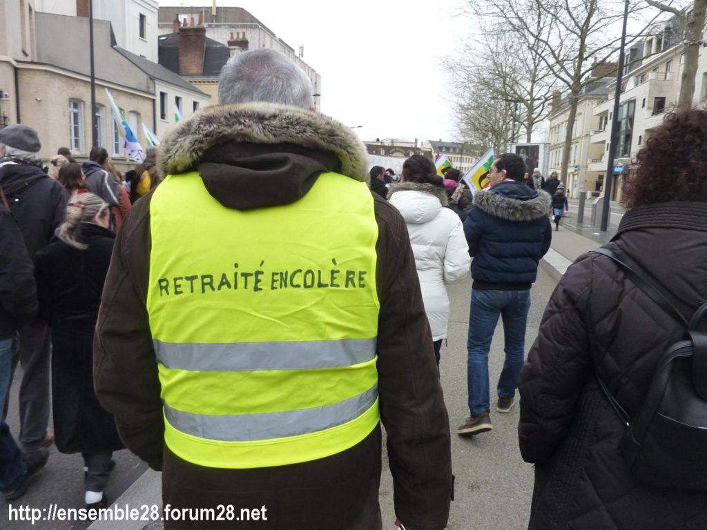 Chartres 28-12-2019 Rassemblement-Manifestation Retraites 07