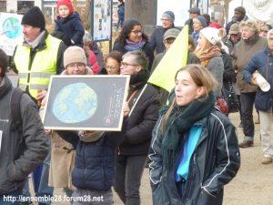 Chartres 30-11-2019 Marche Climat Biodiversité 01