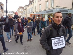 Chartres 30-11-2019 Marche Climat Biodiversité 07