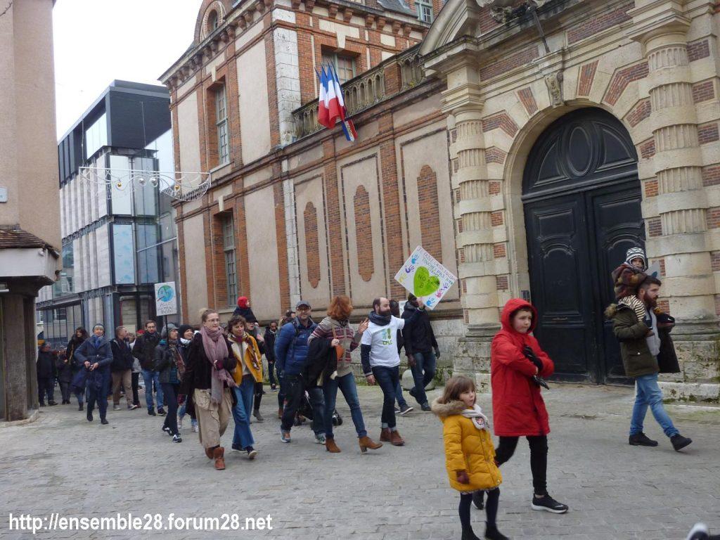 Chartres 30-11-2019 Marche Climat Biodiversité 08