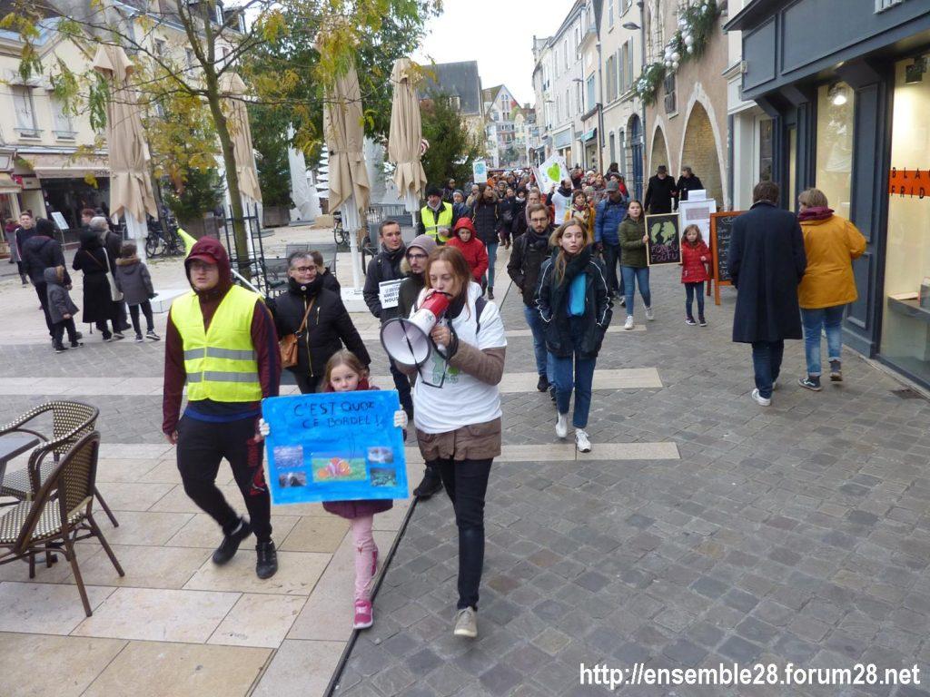 Chartres 30-11-2019 Marche Climat Biodiversité 09