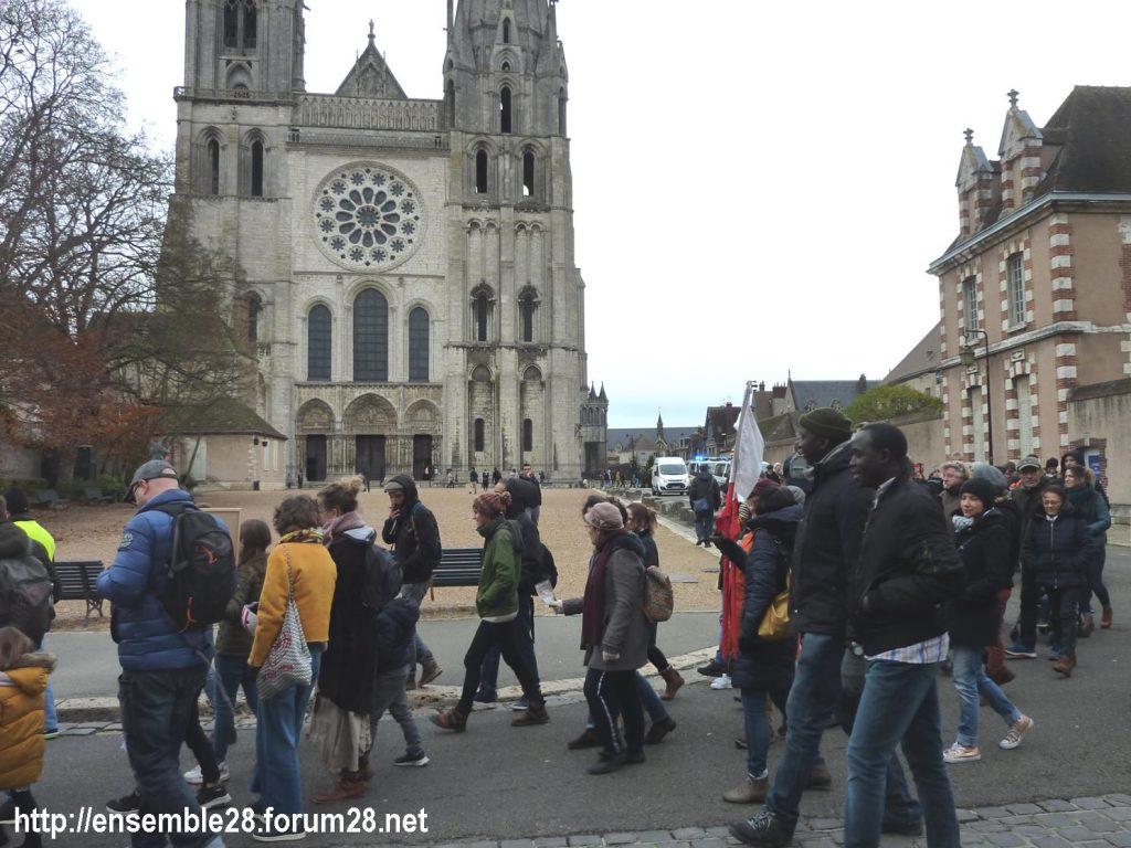 Chartres 30-11-2019 Marche Climat Biodiversité 11