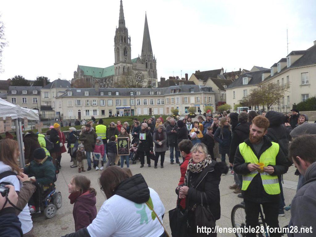 Chartres 30-11-2019 Marche Climat Biodiversité 14