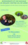Dreux AVERN Conférence Biodiversité Janvrot [Affiche]