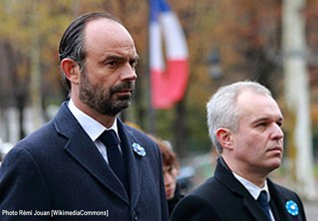 Édouard et Philippe et François de Rugy [Rémi Jouan, Wikimédia Commons]