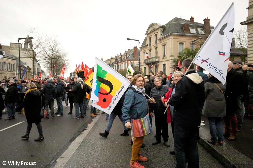 Chartres 09-01-2020 Manifestation Retraites [Willy Proust 02]