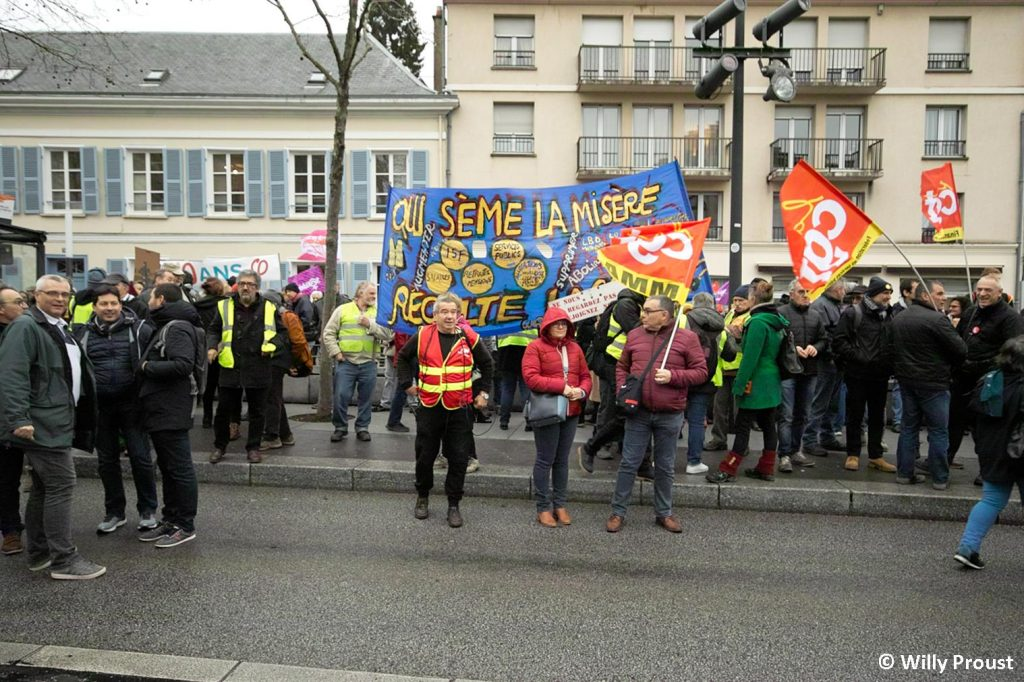 Chartres 09-01-2020 Manifestation Retraites [Willy Proust 04]